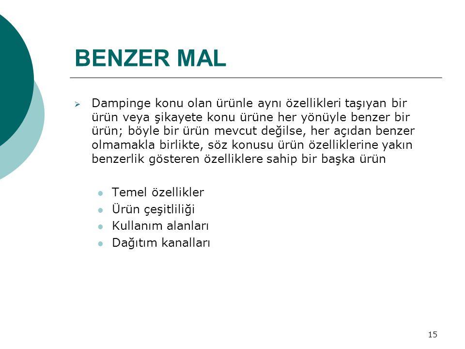 BENZER MAL