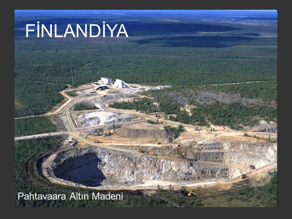 FİNLANDİYA Pahtavaara Altın Madeni