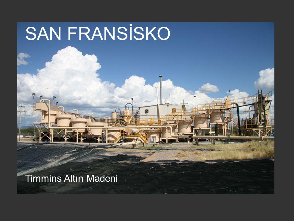 SAN FRANSİSKO Timmins Altın Madeni