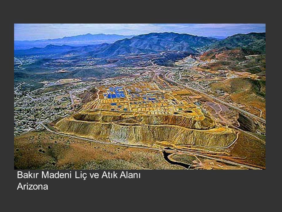 Bakır Madeni Liç ve Atık Alanı Arizona