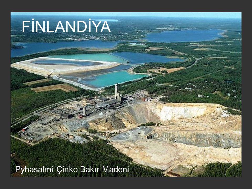 FİNLANDİYA Pyhasalmi Çinko Bakır Madeni