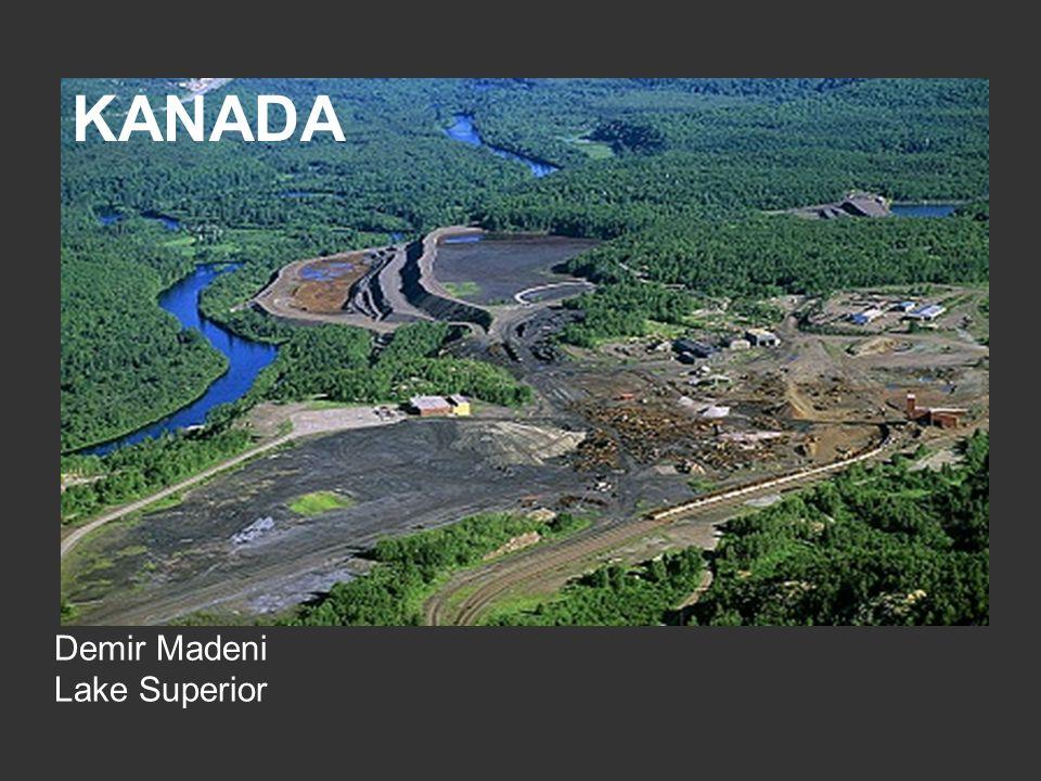 KANADA Demir Madeni Lake Superior