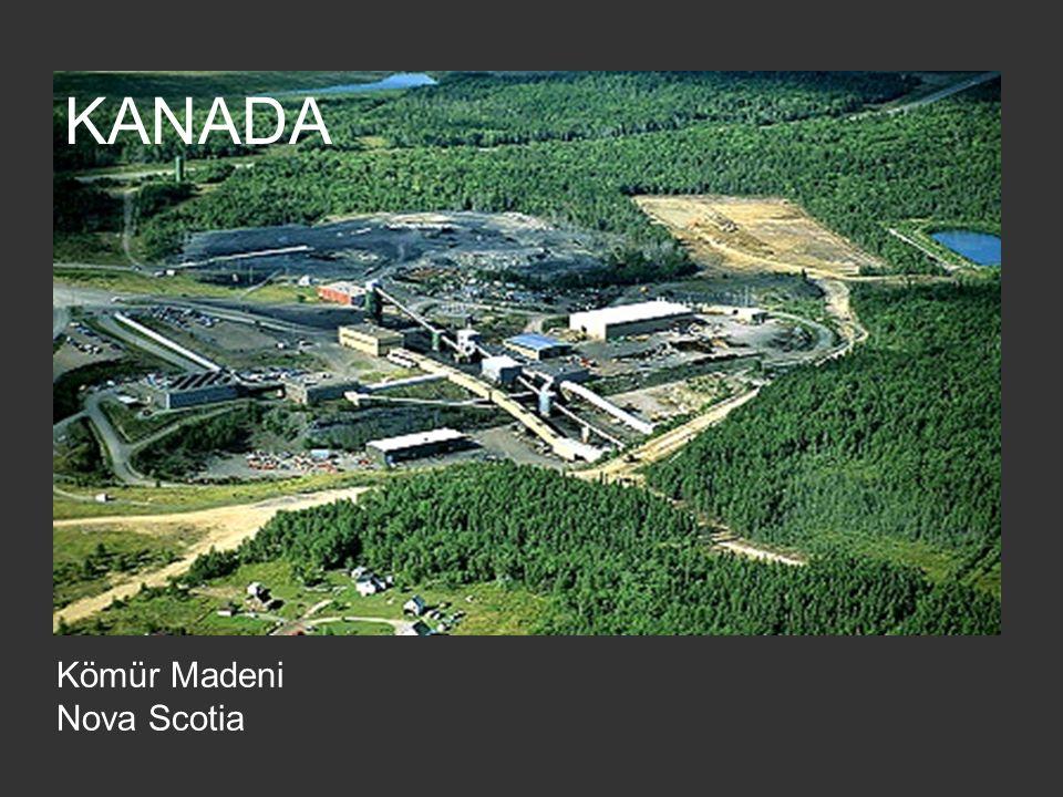 KANADA Kömür Madeni Nova Scotia