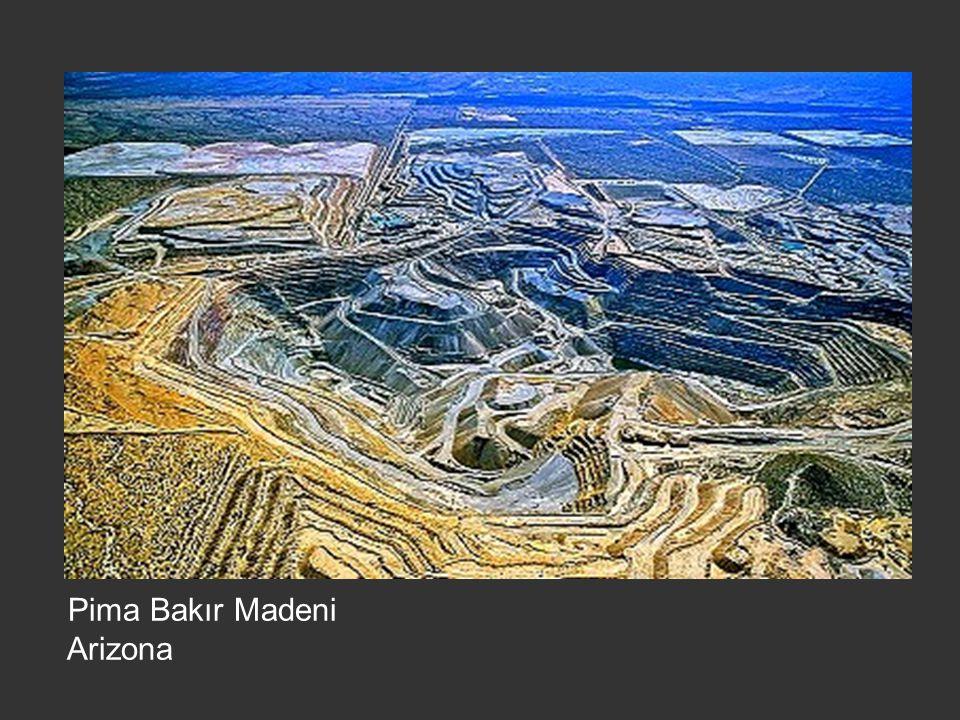Pima Bakır Madeni Arizona