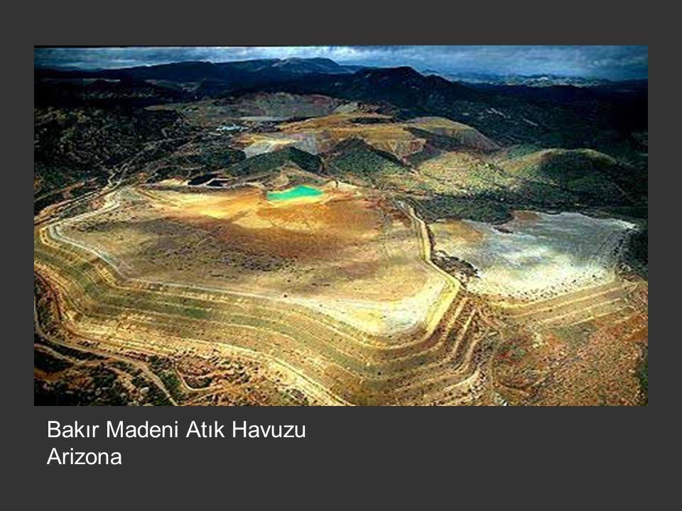 Bakır Madeni Atık Havuzu Arizona