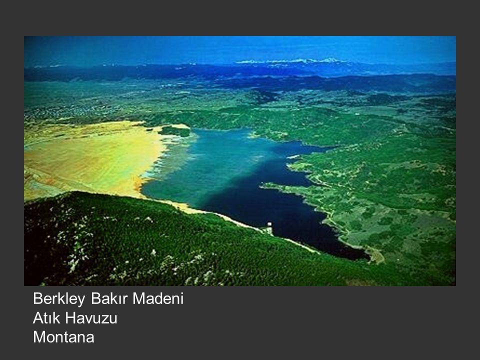 Berkley Bakır Madeni Atık Havuzu Montana