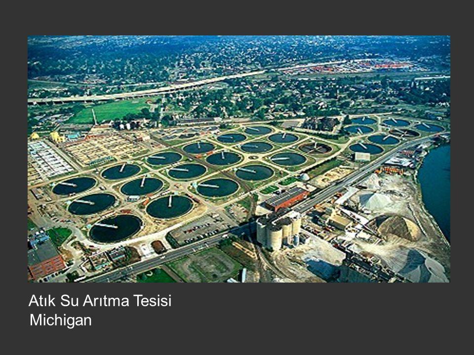 Atık Su Arıtma Tesisi Michigan
