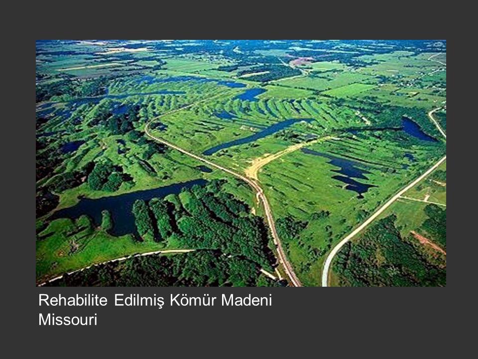 Rehabilite Edilmiş Kömür Madeni Missouri