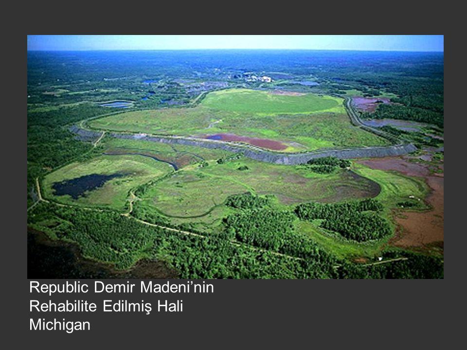 Republic Demir Madeni'nin Rehabilite Edilmiş Hali Michigan