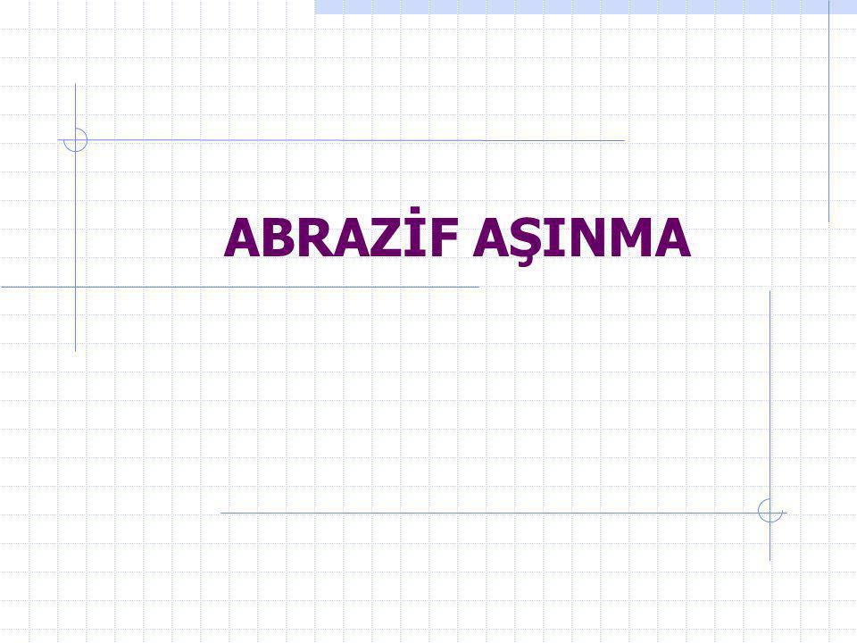 ABRAZİF AŞINMA