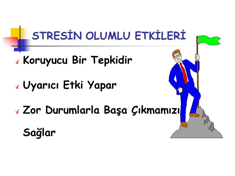 STRESİN OLUMLU ETKİLERİ