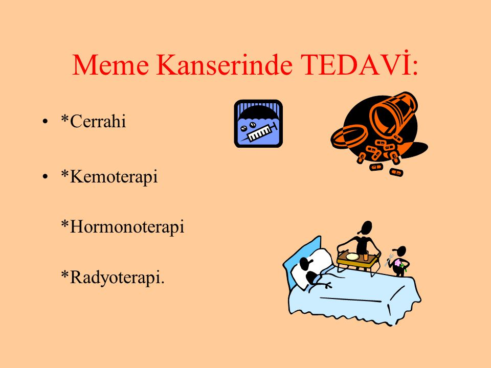 Meme Kanserinde TEDAVİ: