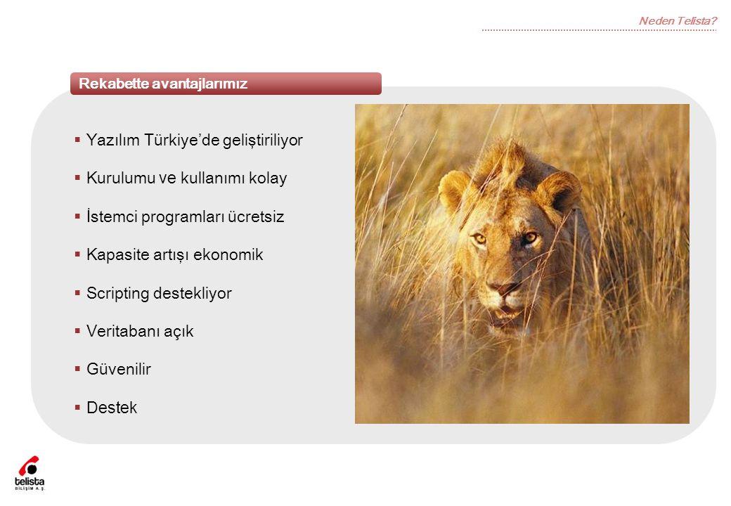 Yazılım Türkiye'de geliştiriliyor Kurulumu ve kullanımı kolay