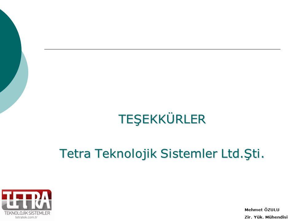 Tetra Teknolojik Sistemler Ltd.Şti.