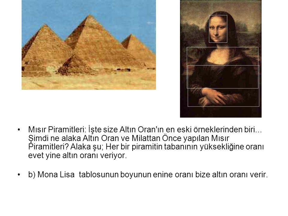 Mısır Piramitleri: İşte size Altın Oran ın en eski örneklerinden biri