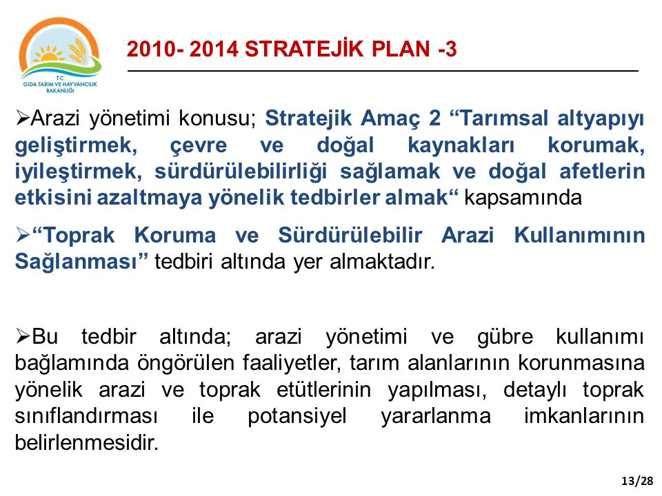 STRATEJİK PLAN -3