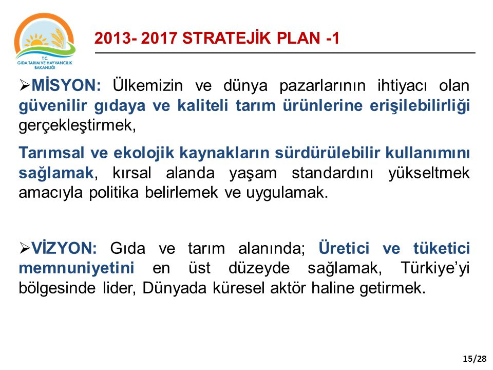 2013- 2017 STRATEJİK PLAN -1