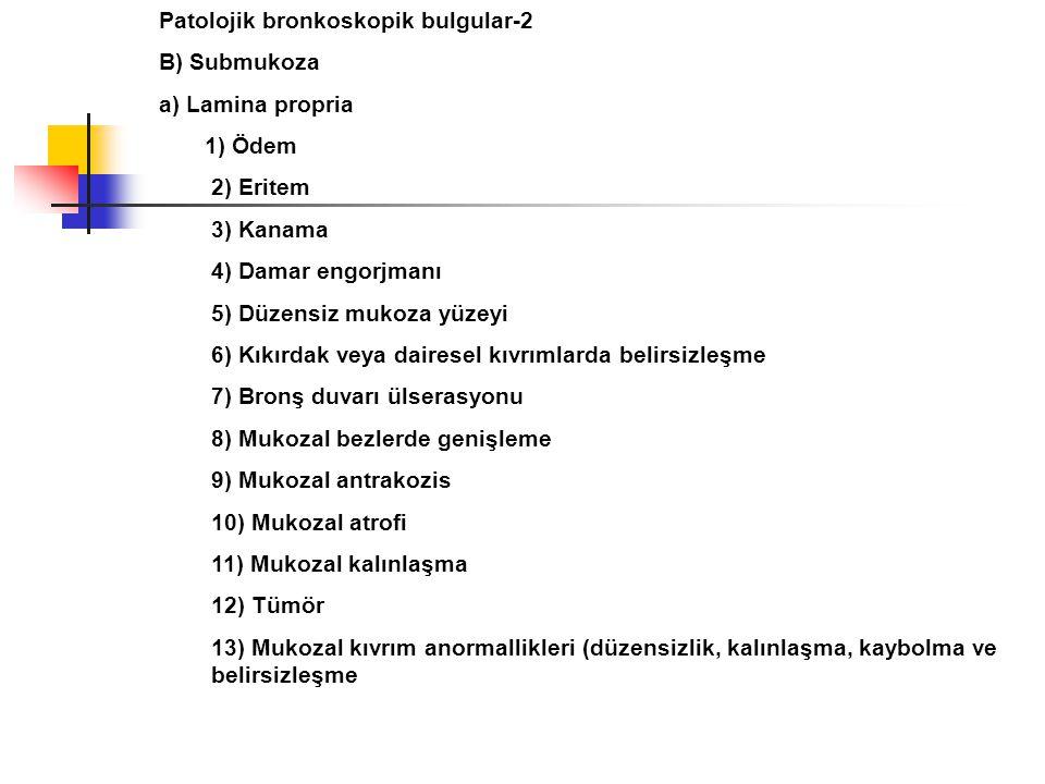 Patolojik bronkoskopik bulgular-2