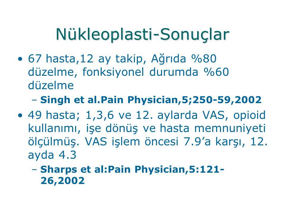 Nükleoplasti-Sonuçlar