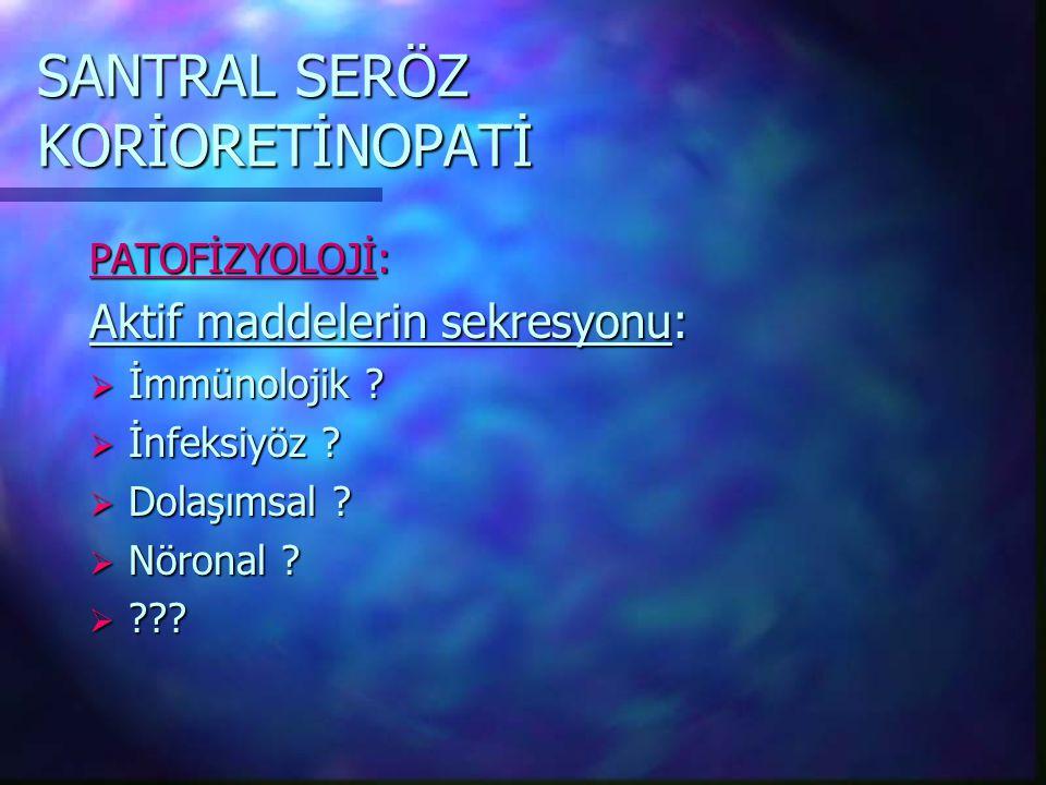 SANTRAL SERÖZ KORİORETİNOPATİ