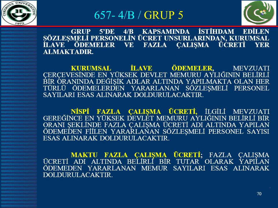 657- 4/B / GRUP 5