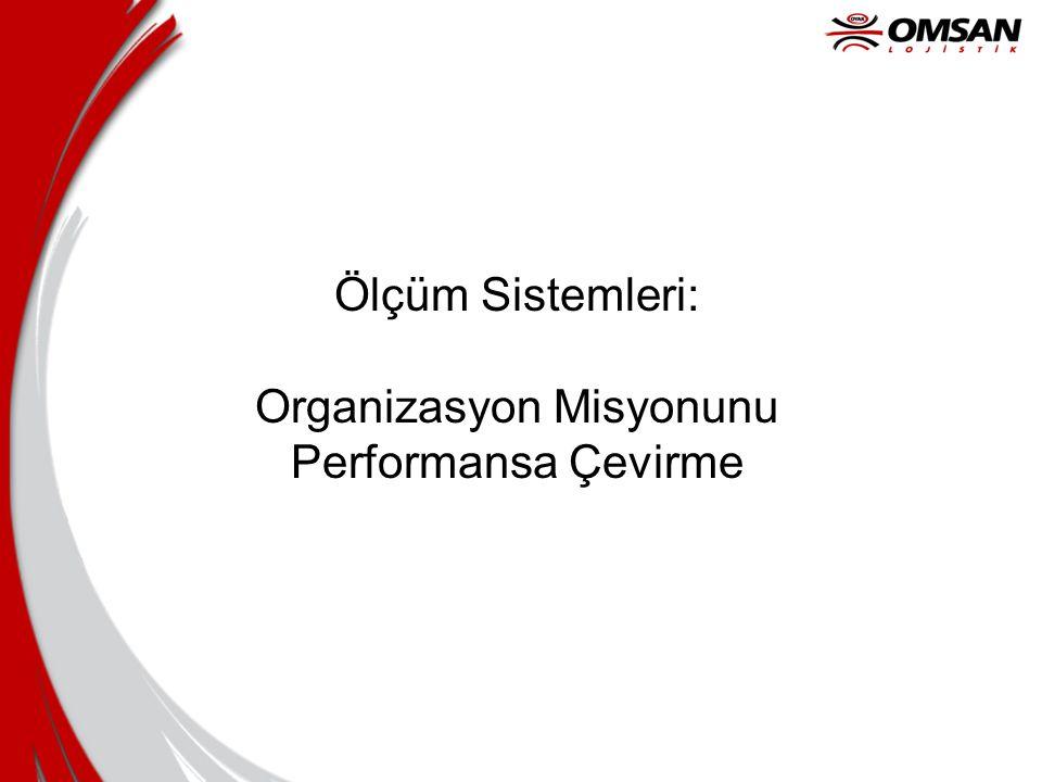 Ölçüm Sistemleri: Organizasyon Misyonunu Performansa Çevirme