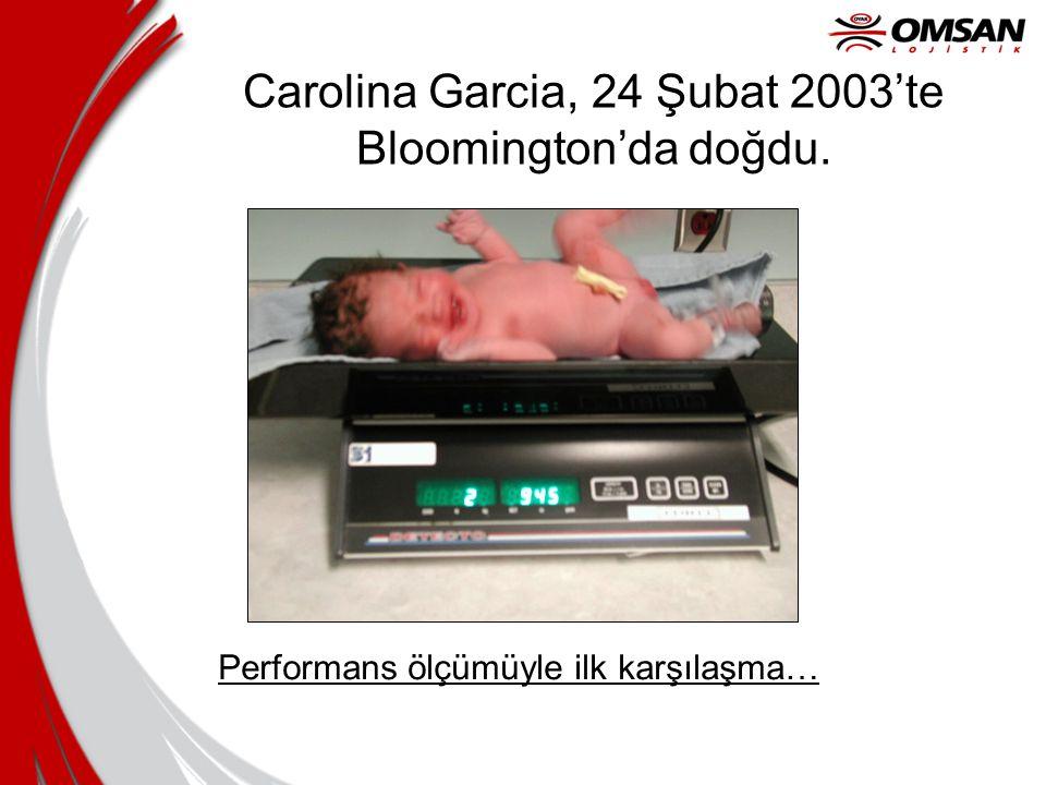 Carolina Garcia, 24 Şubat 2003'te Bloomington'da doğdu.