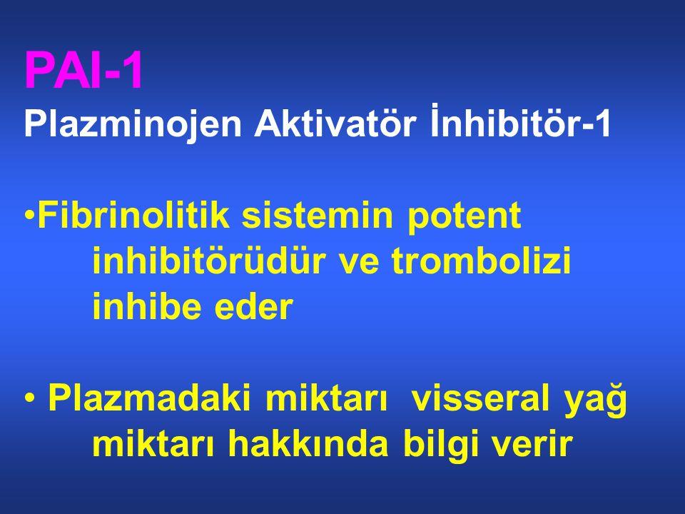 PAI-1 Plazminojen Aktivatör İnhibitör-1