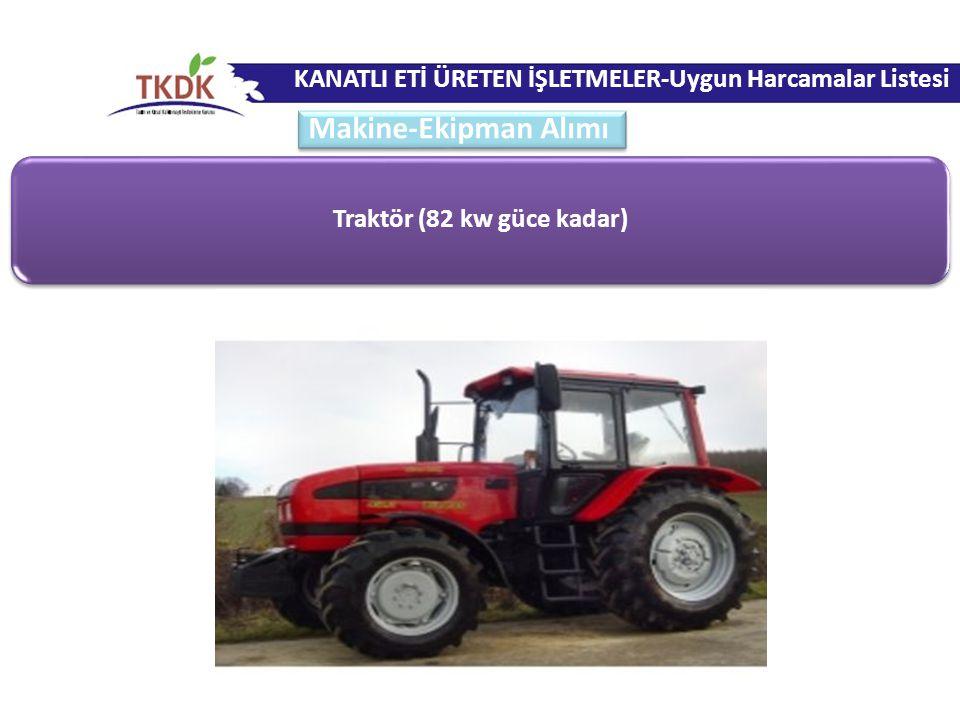 Traktör (82 kw güce kadar)