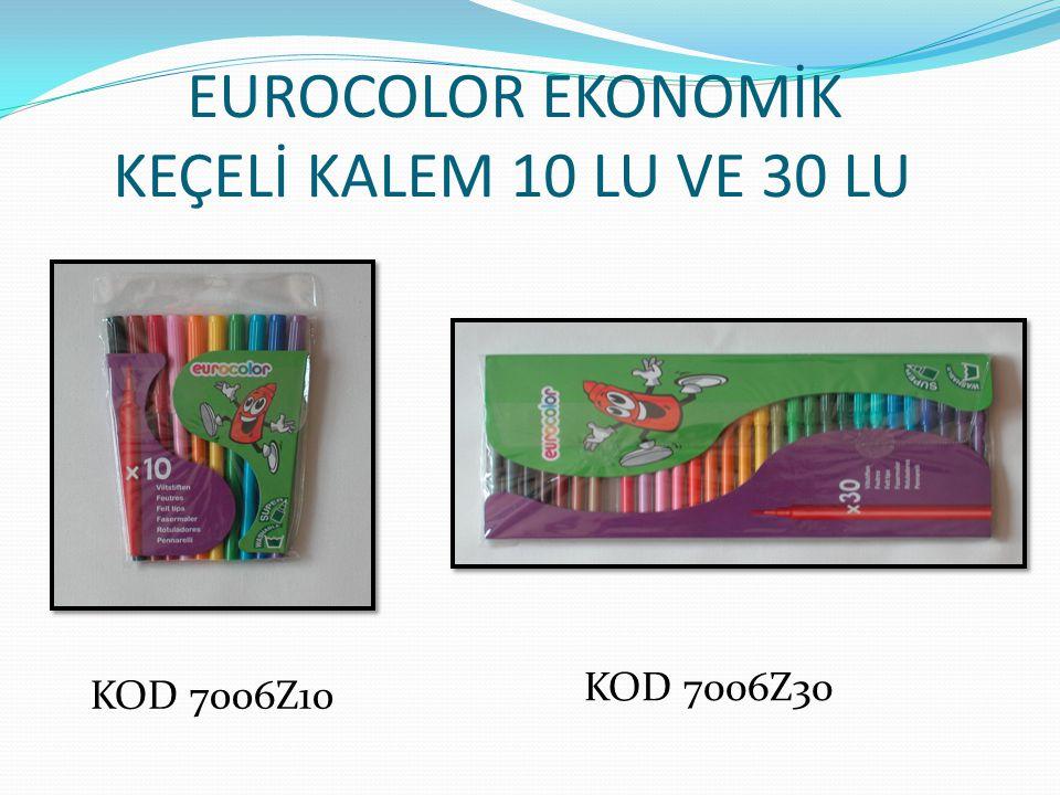 EUROCOLOR EKONOMİK KEÇELİ KALEM 10 LU VE 30 LU