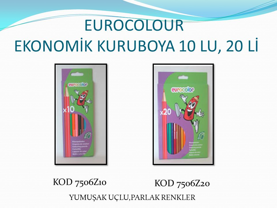 EUROCOLOUR EKONOMİK KURUBOYA 10 LU, 20 Lİ