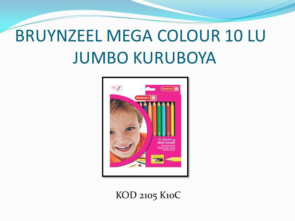 BRUYNZEEL MEGA COLOUR 10 LU JUMBO KURUBOYA
