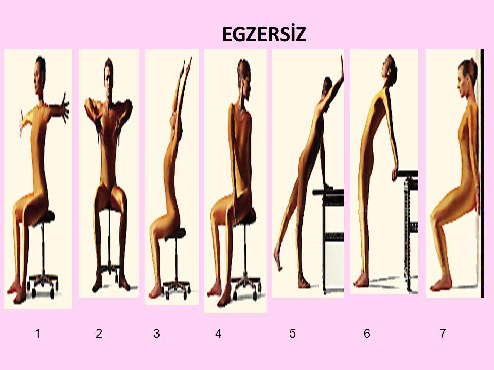 EGZERSİZ 1 2 3 4 5 6 7