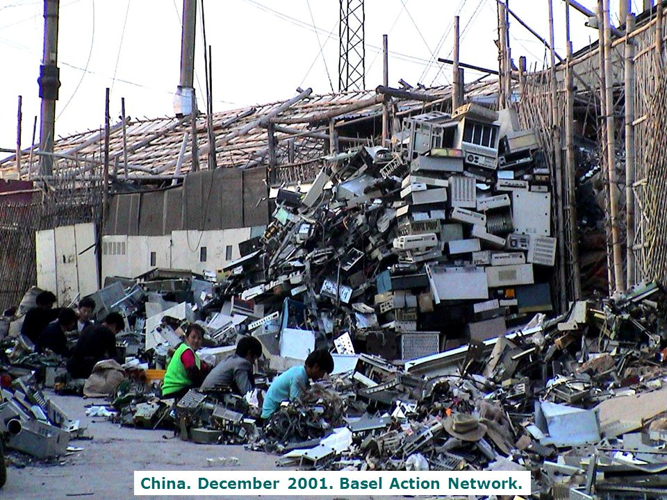 China. December 2001. Basel Action Network.