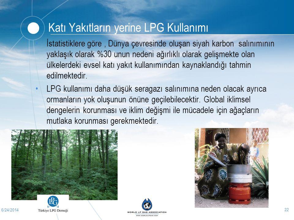 Katı Yakıtların yerine LPG Kullanımı