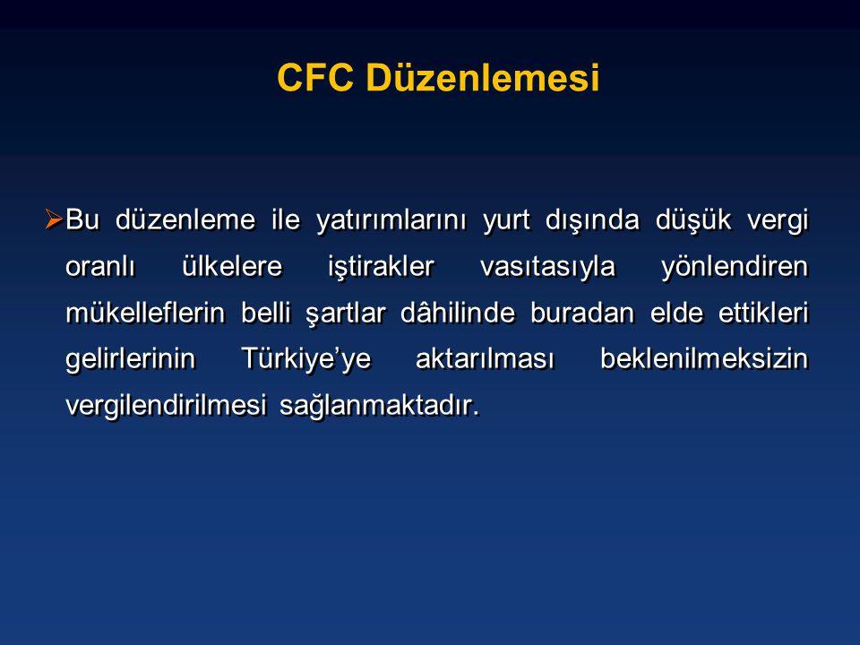 CFC Düzenlemesi
