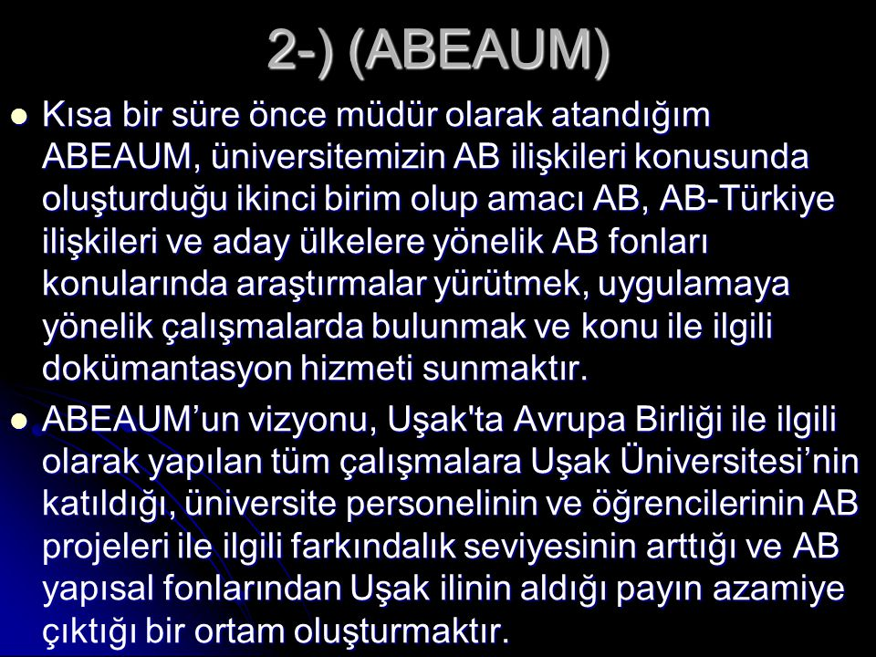 2-) (ABEAUM)
