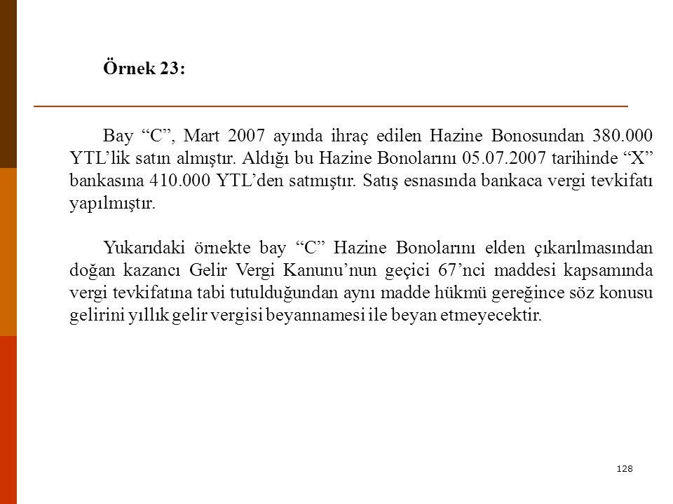 Örnek 23: