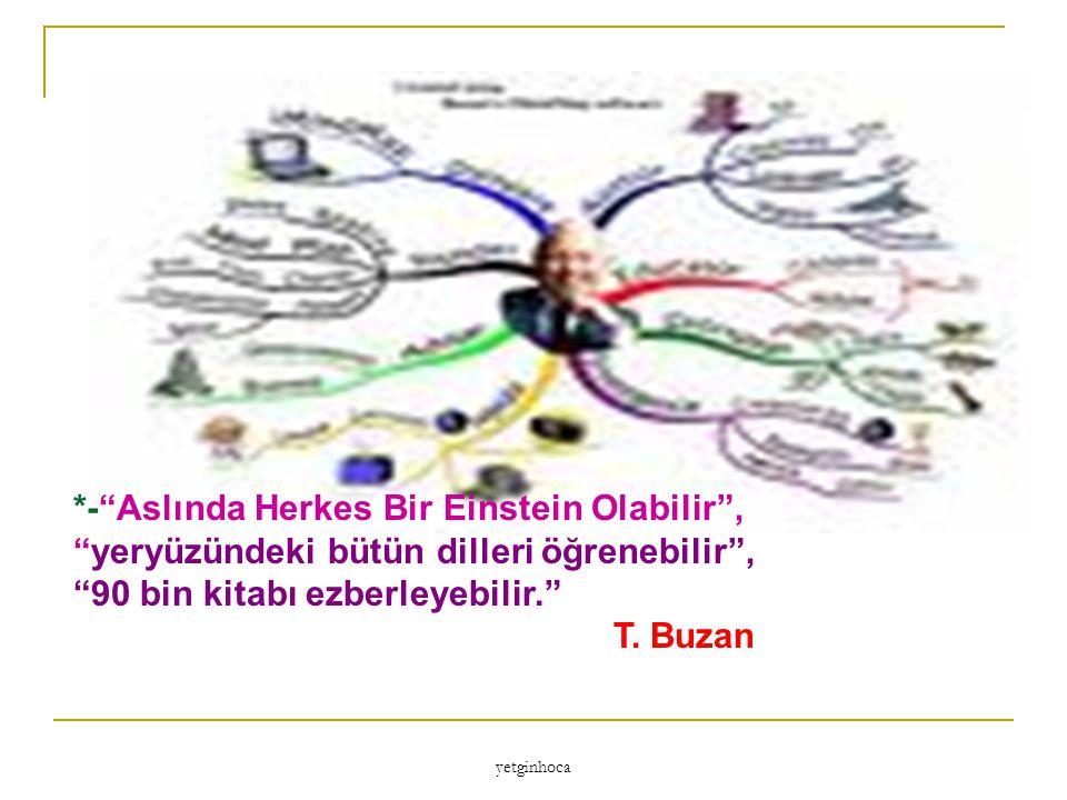 *- Aslında Herkes Bir Einstein Olabilir ,