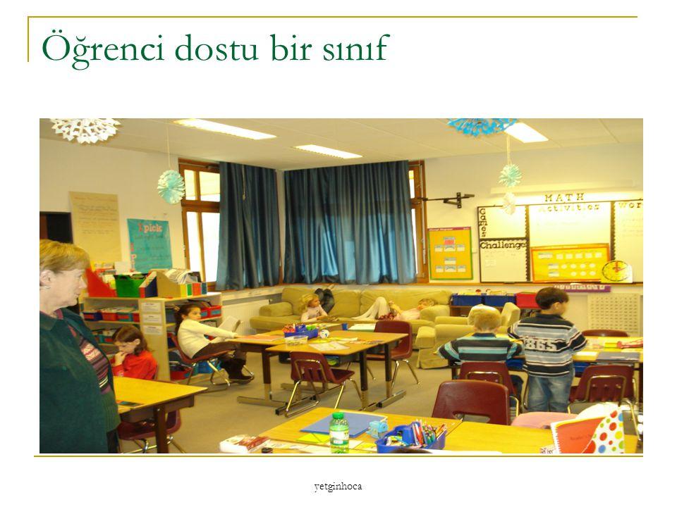 Öğrenci dostu bir sınıf