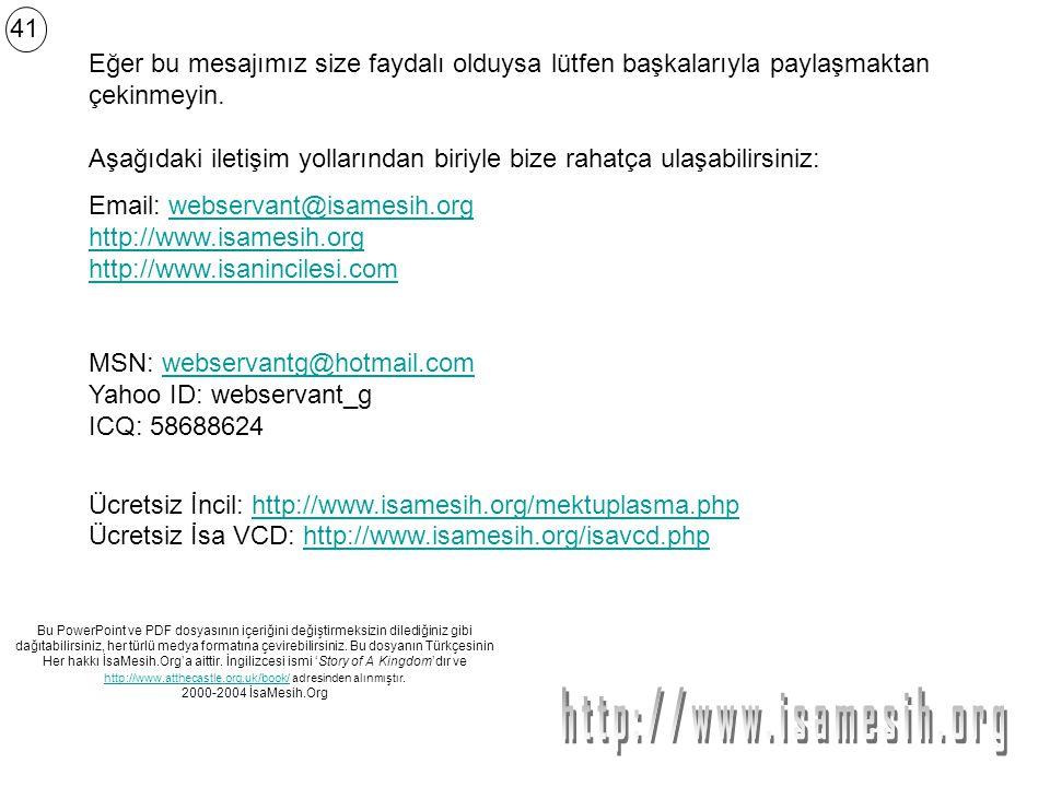 http://www.isamesih.org 41