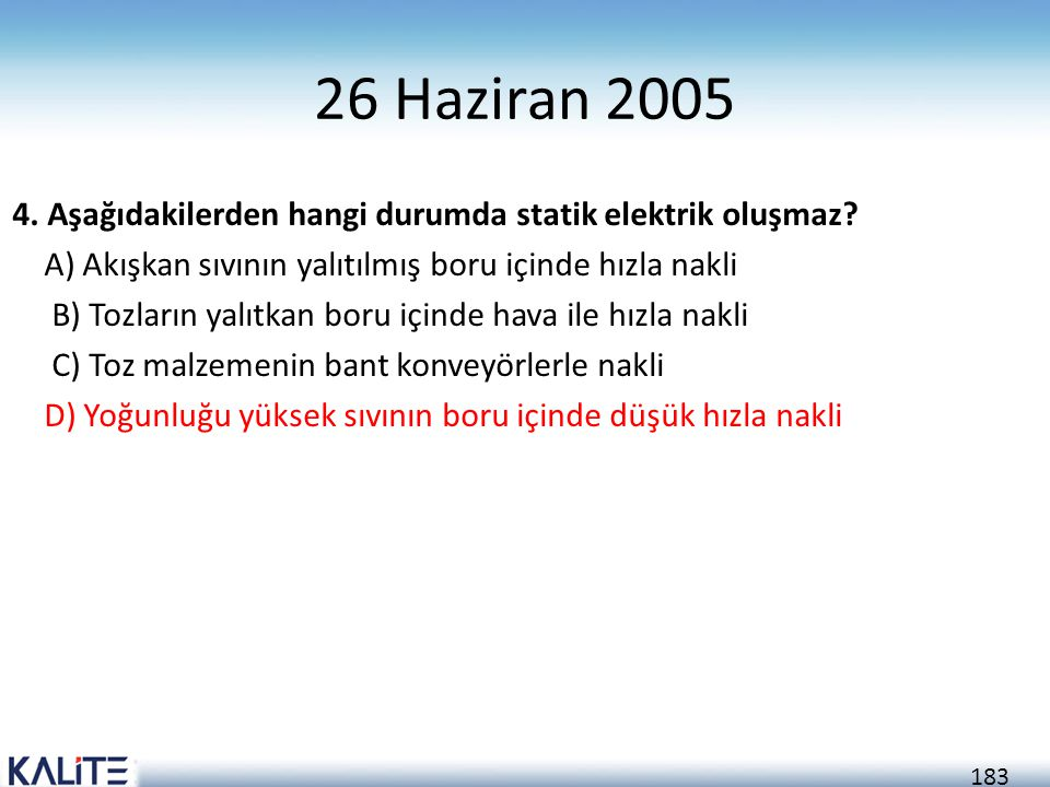 26 Haziran 2005