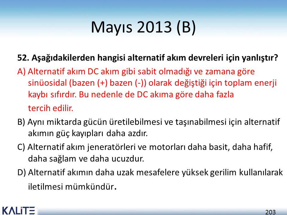 Mayıs 2013 (B)