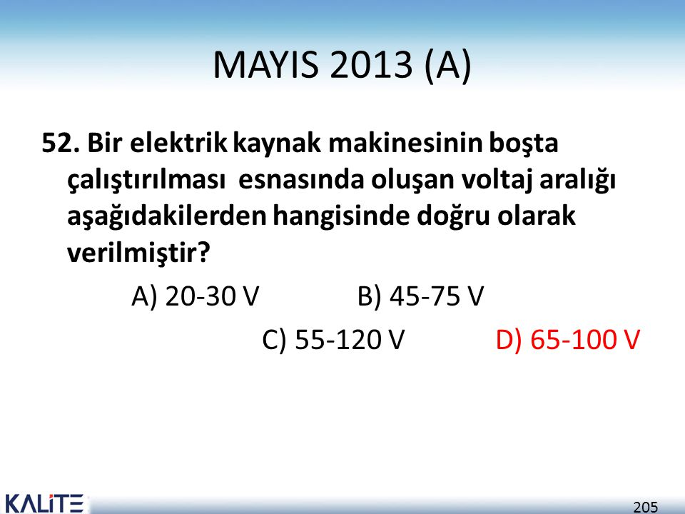MAYIS 2013 (A)