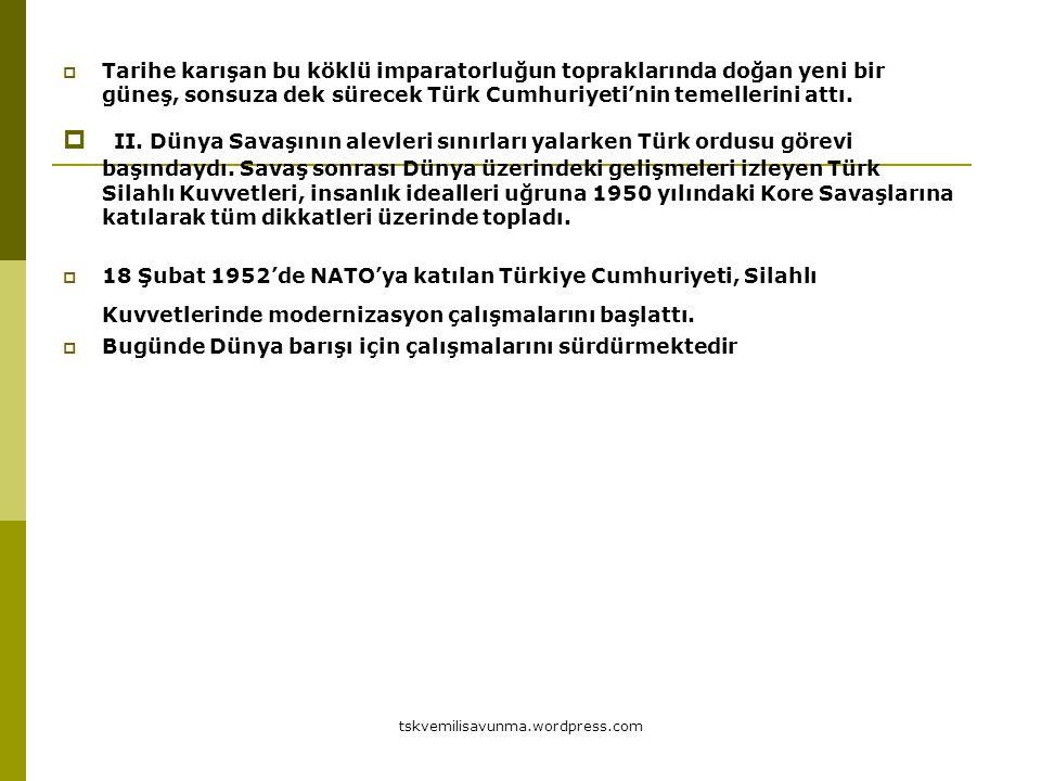 Tarihe karışan bu köklü imparatorluğun topraklarında doğan yeni bir güneş, sonsuza dek sürecek Türk Cumhuriyeti'nin temellerini attı.