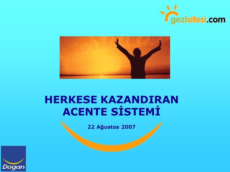 HERKESE KAZANDIRAN ACENTE SİSTEMİ