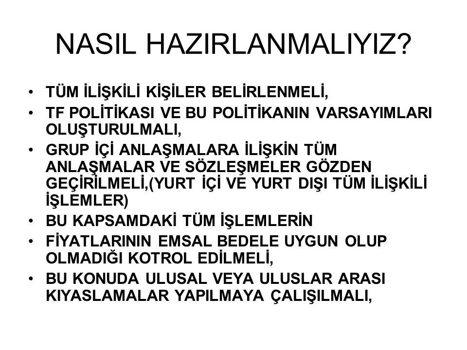 NASIL HAZIRLANMALIYIZ