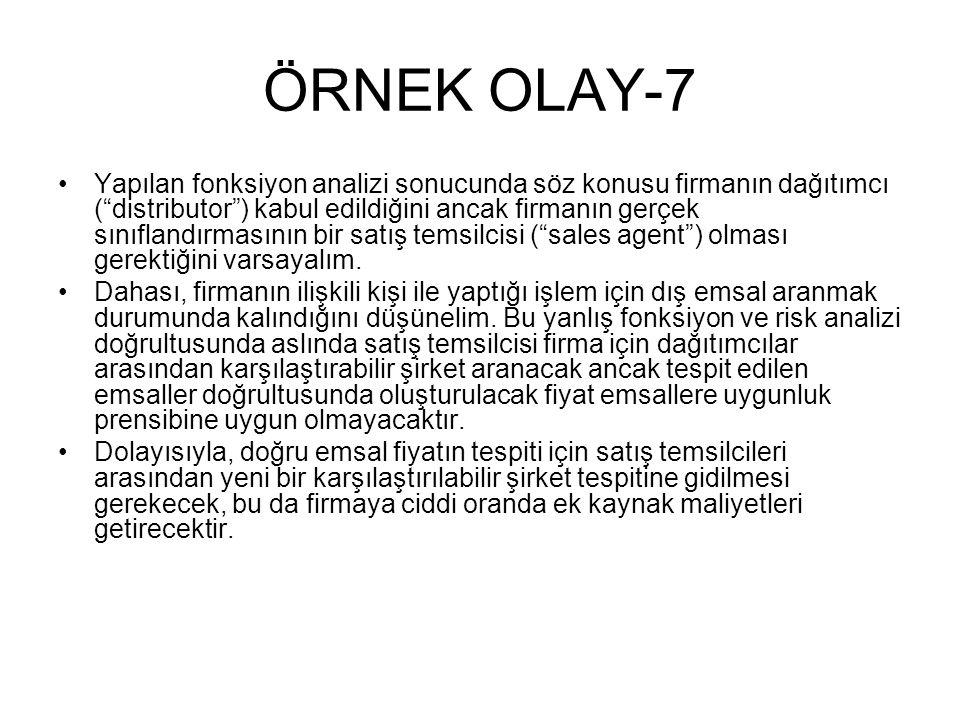 ÖRNEK OLAY-7