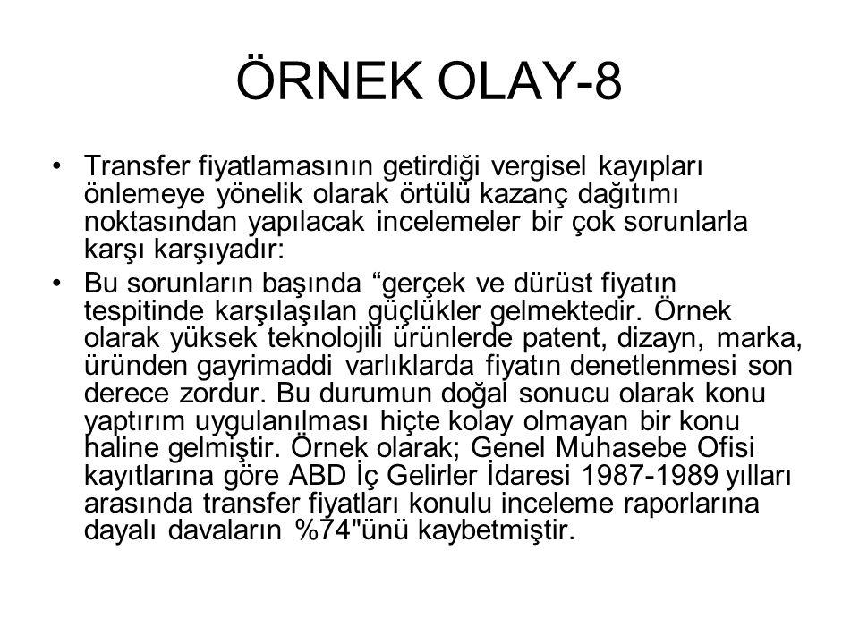 ÖRNEK OLAY-8