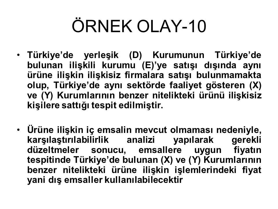 ÖRNEK OLAY-10